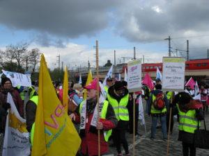 DBB Demo in Nürnberg