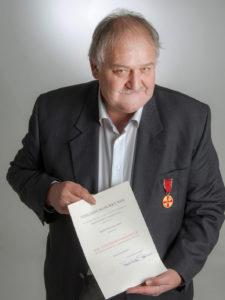 Verleihung Verdienstmedaillie